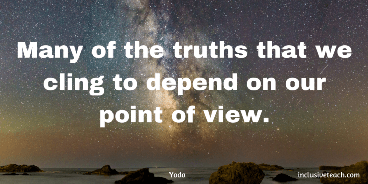 """Many of the truths that we cling to depend on our point of view."" star wars Quote.png"