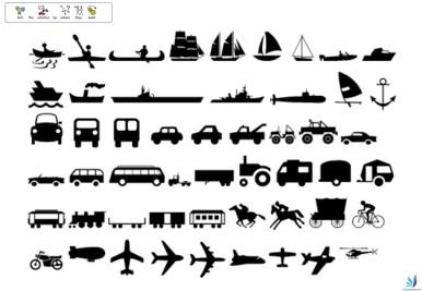 Free SEN teaching transport topic resources