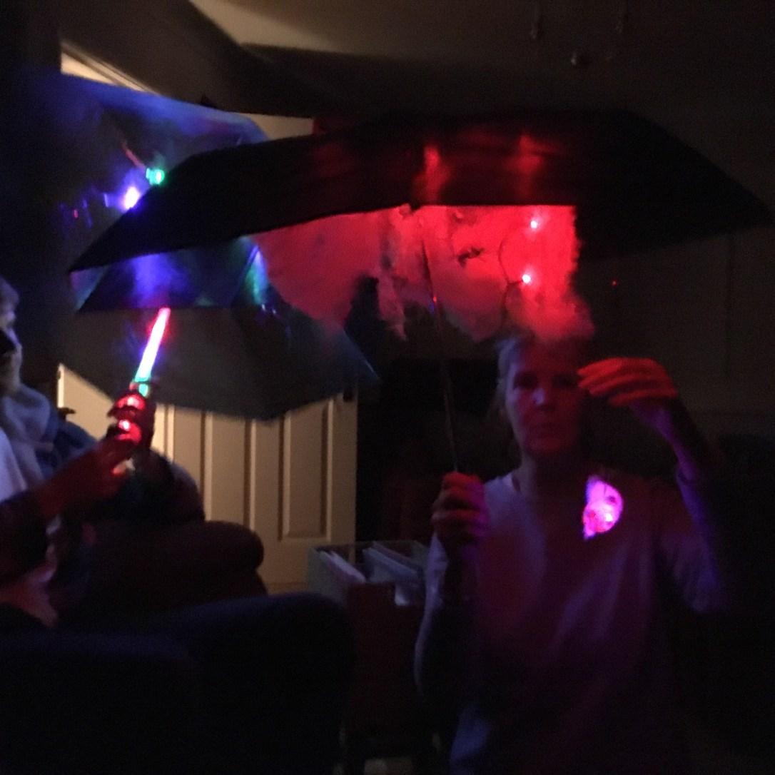 Sensory umbrellas flo longhorn PMLD