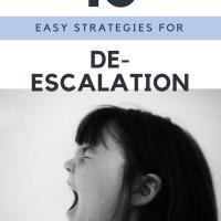 10 Essential Behaviour De-escalation Tips