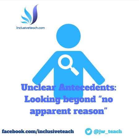 unclear internal antecedents