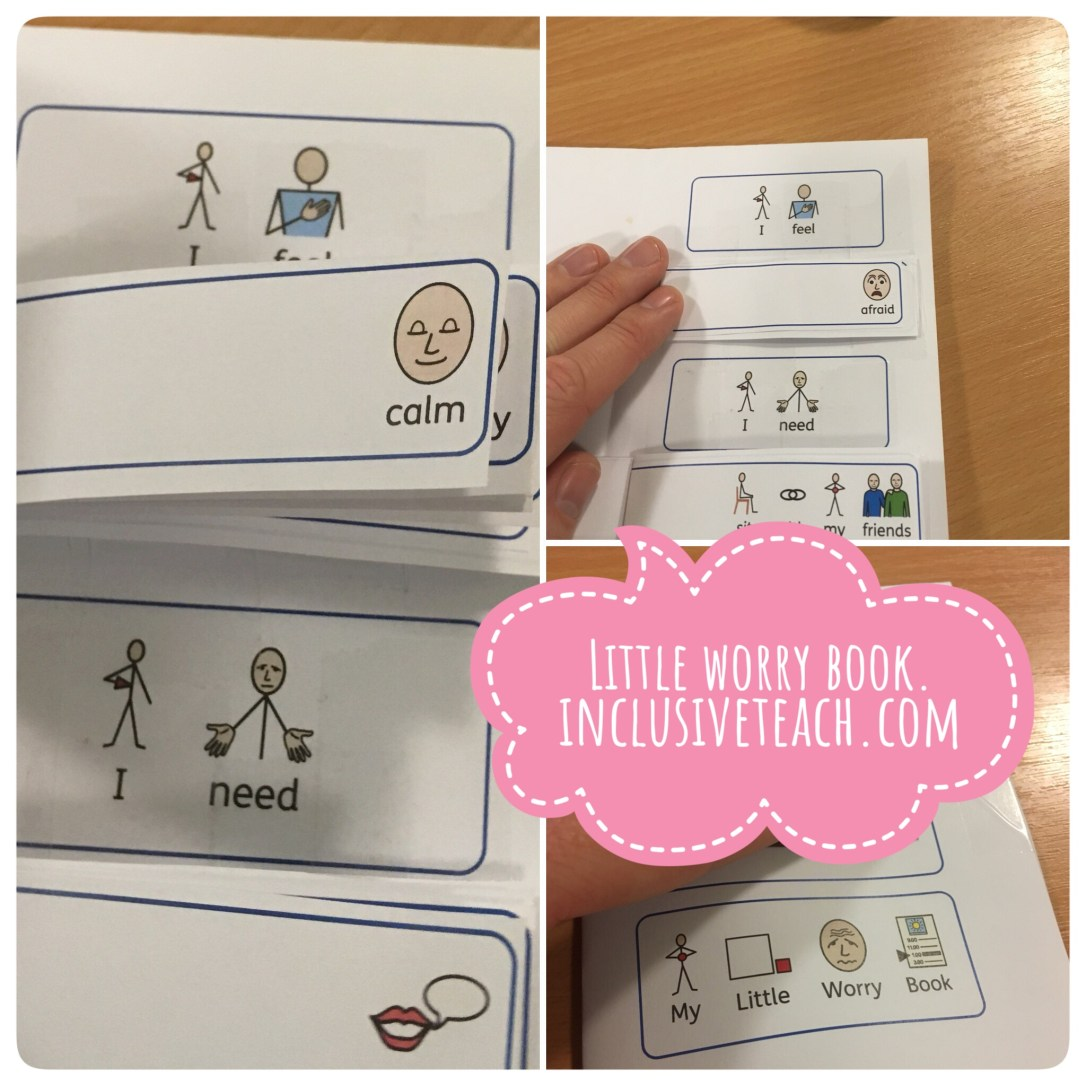 Little worry book emotional regulation strategy autism anxiety