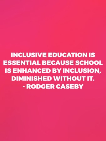 Inclusive education teacher quote