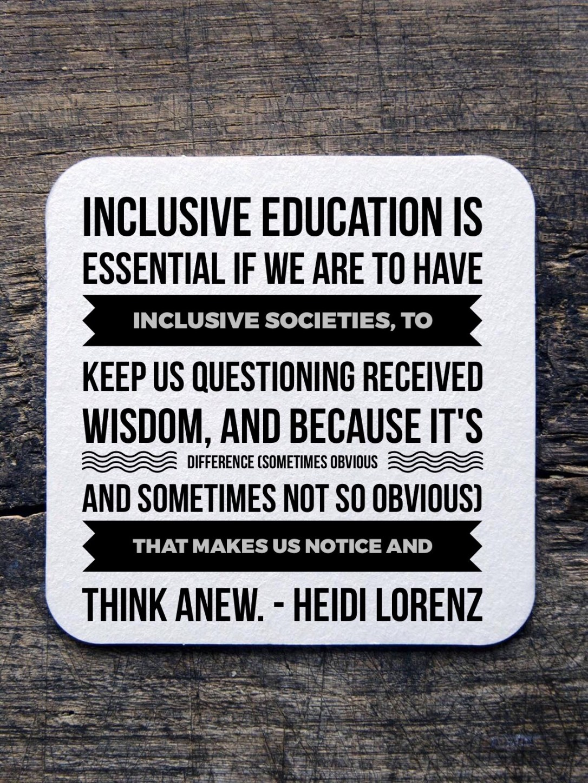 inclusive education teacher quote