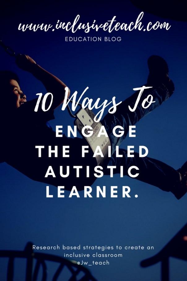 Autsim swing enagement blog research based tips.