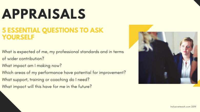 5 essential Questions appraisal