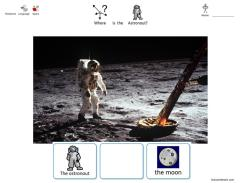 Space Positional Language Worksheets