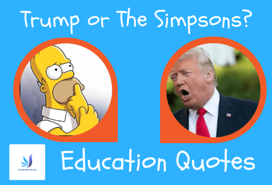 donald trump vs the simpsons