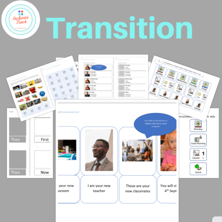 Transition printable resources