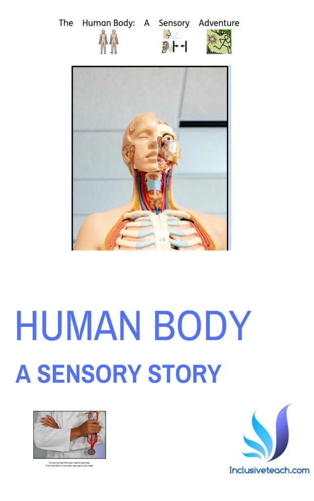 Free ebook download of Human body sensory story for PMLD, EYFS