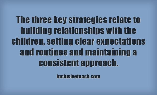 behaviour management quote consistent expectations