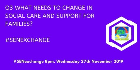 What needs to change in social care and support for families?