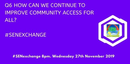 How can we continue to improve community access for all?