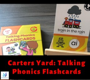 Carters Yard Talking Phonics Flashcards SEND