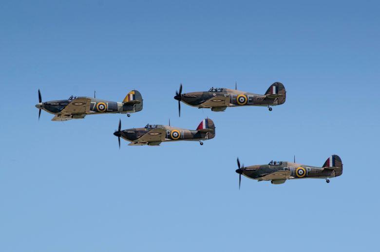 Spitfires blitz ww2