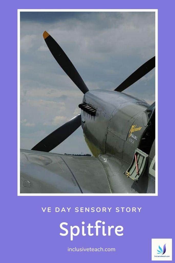 VE Day Sensory Story Spitfire