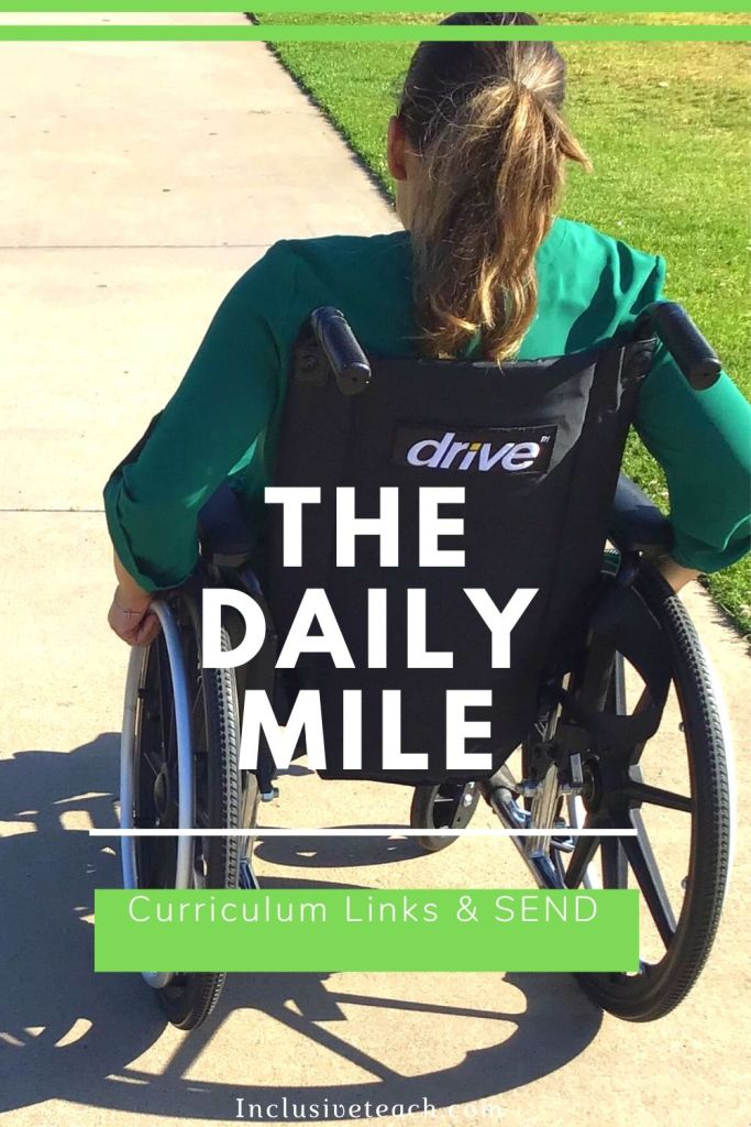 The Daily Mile SEND learners Inclusive activities