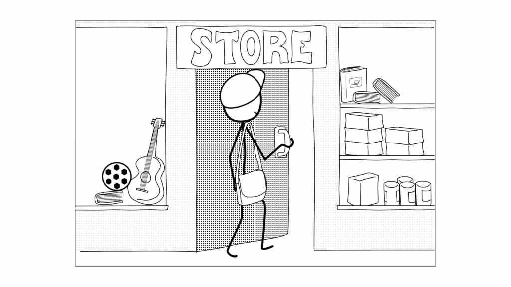 Covid-19 teaching resource printable comic