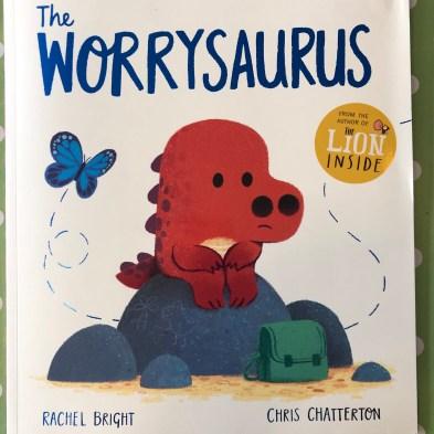 Worrysaurus book cover scan link anxiety children