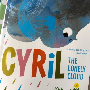 cyril the lonely cloud book cover emotions