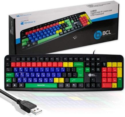 Assistive technologies keyboard high contrast