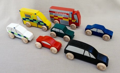 good grief toys play set vehicles