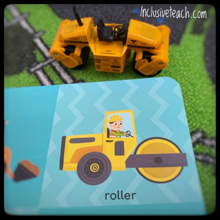 first hundred machines transport book and toy digger early literacy