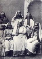African women in Egypt, circa 1905.