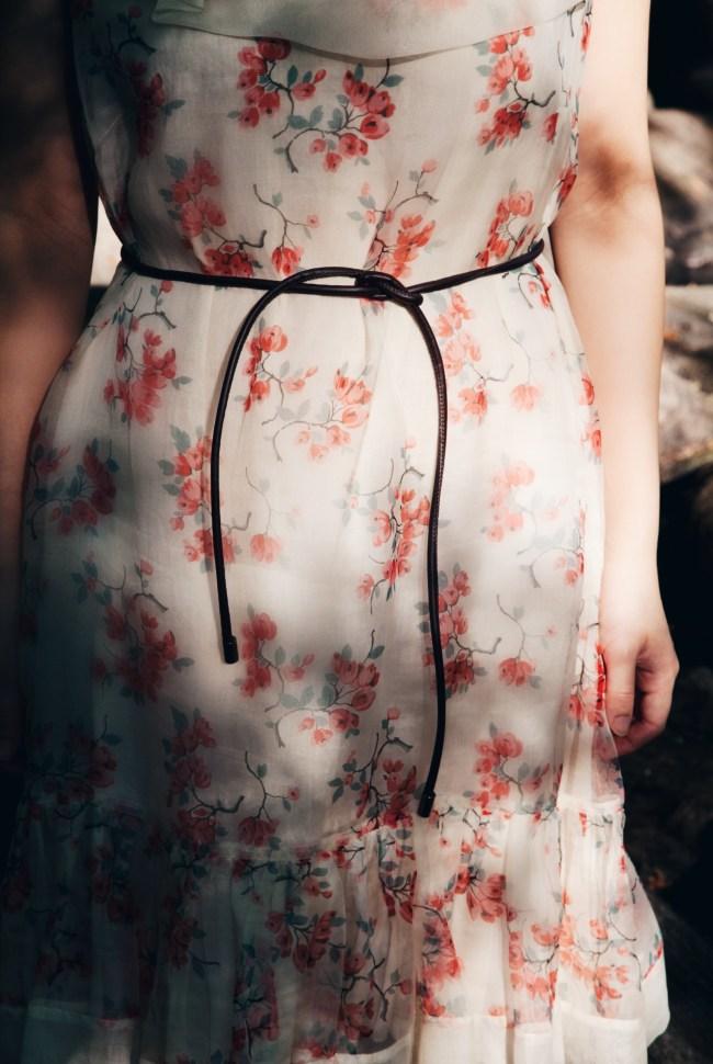 cherry blossom, dress, valentino, luxurymaman