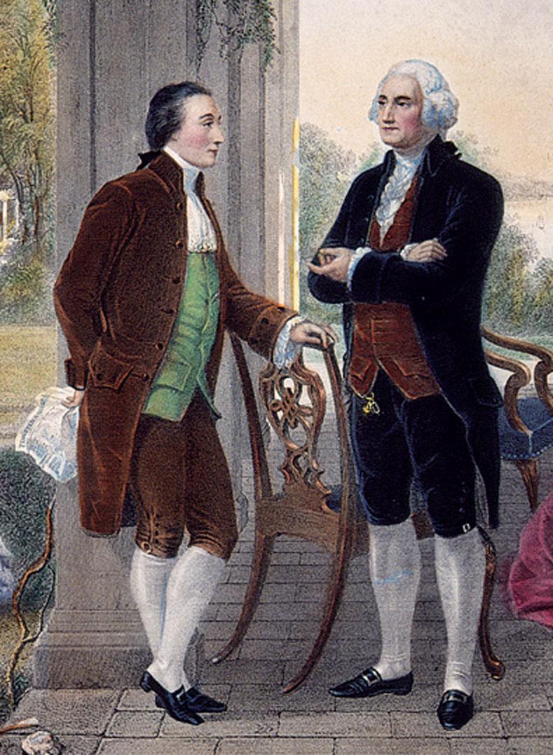 Georges Washington De La Fayette : georges, washington, fayette, Marquis, Lafayette, George, Washington, Christine, Messing,, Rudder, Incollect
