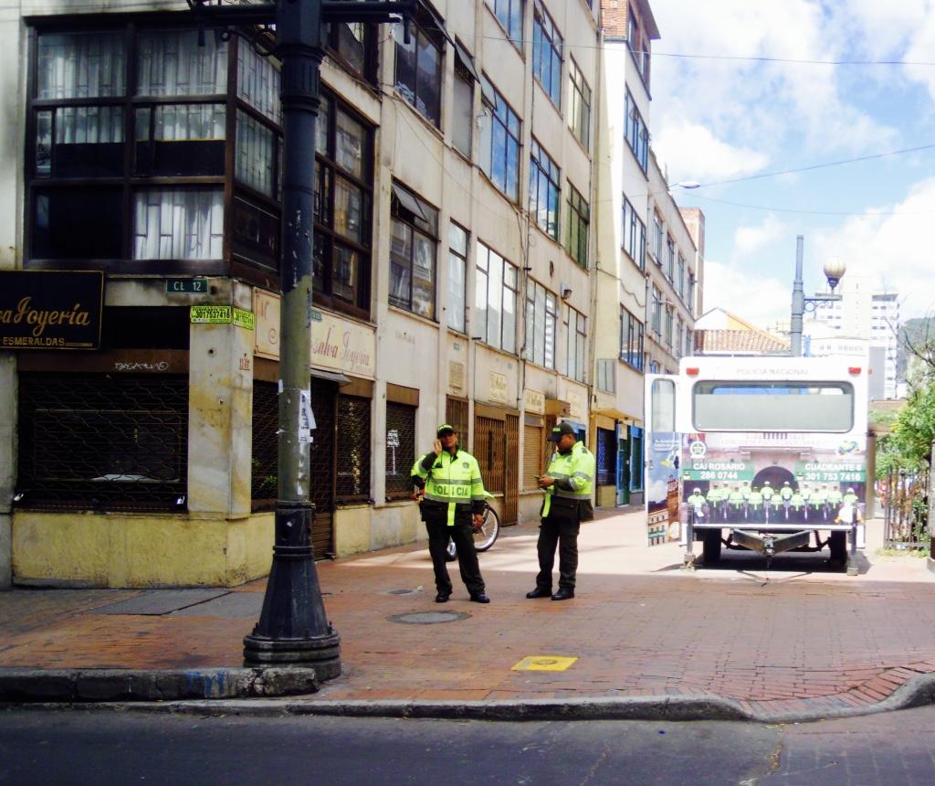 polizia Bogotà