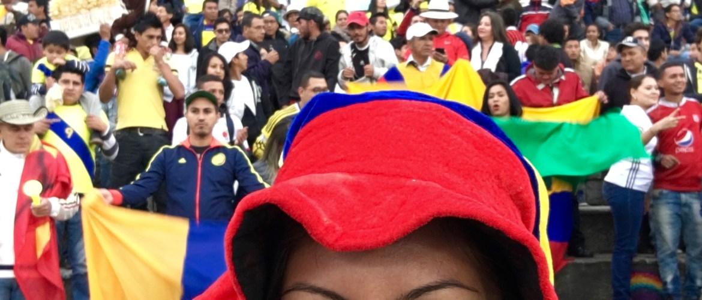 partita di calcio Colombia