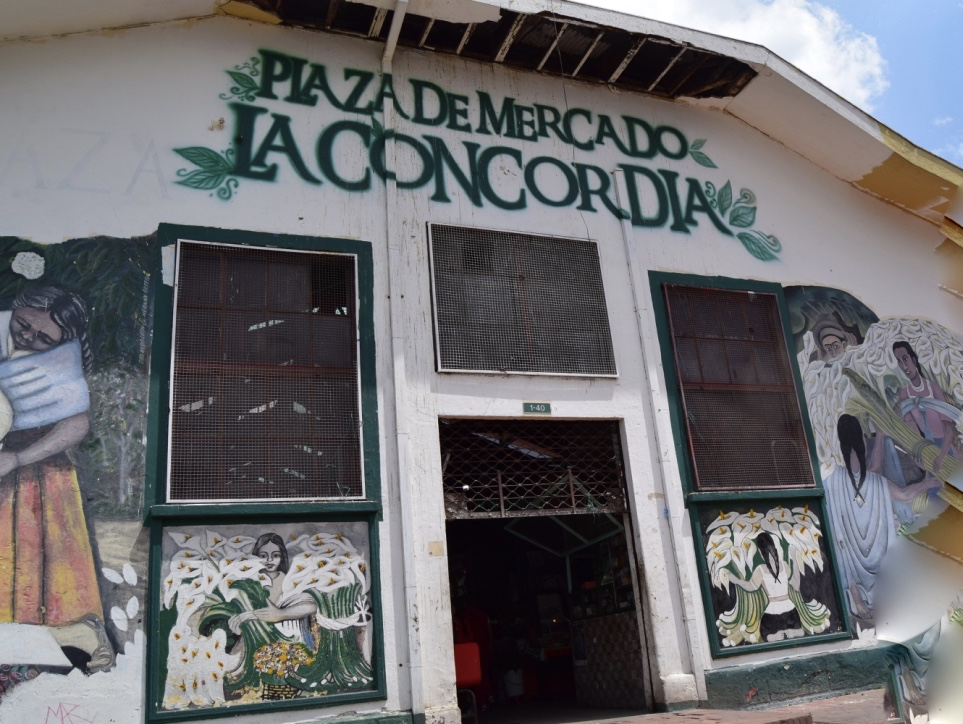 Mercato in Sudamerica