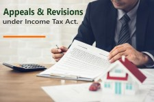 Appeals & Revisions under Income Tax Act.