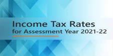 Income Tax Rates for Assessment Year 2021-22