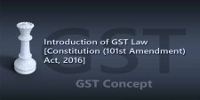 Introduction of GST Law [Constitution (101st Amendment) Act, 2016]
