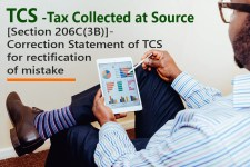 [Section 206C(3B)]- Correction Statement of TCS for rectification of mistake