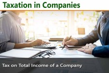 Taxation In Companies - Company Taxation