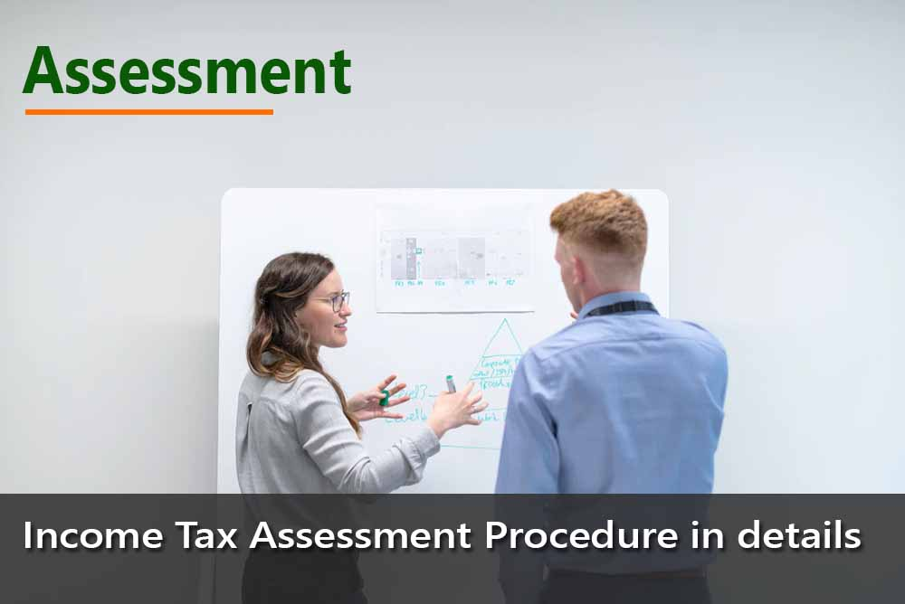Income Tax Assessment Procedure in details