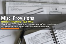 [Section 269T]- Mode of repayment of certain Loans or Deposits and Specified Advance Received