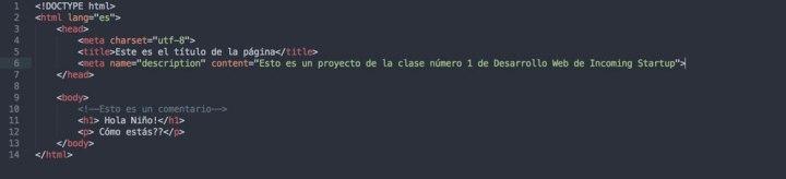 Así queda nuestro test.html