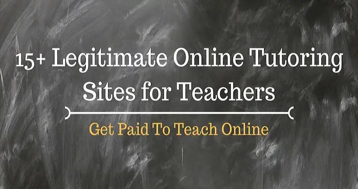 Best online tutoring sites