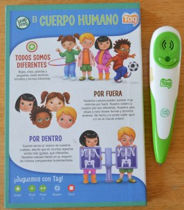 El Cuerpo Humano, Aventuras Interactivas. Editorial Leapfrog 2012