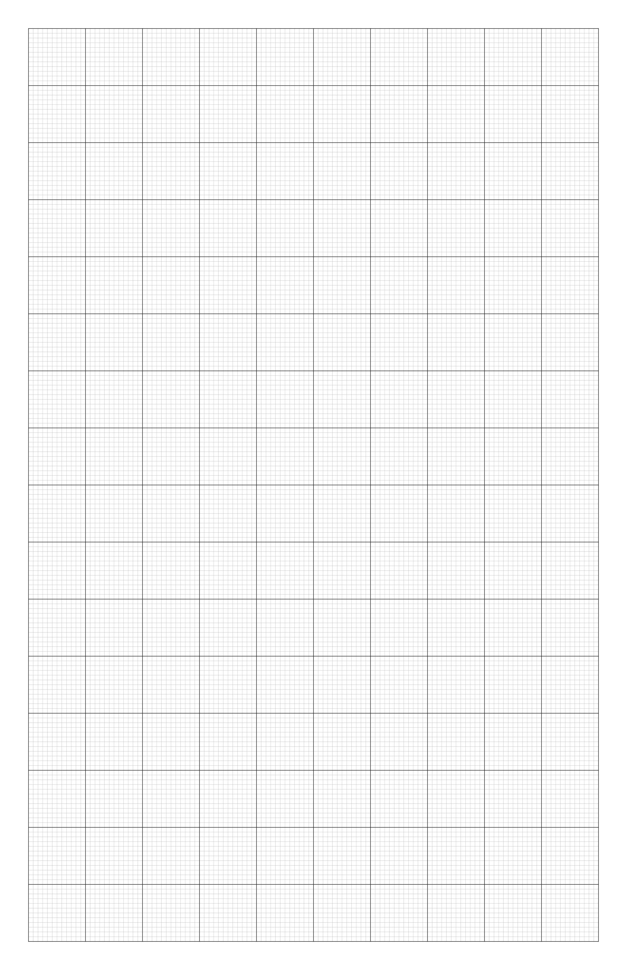 a3 1mm graph paper