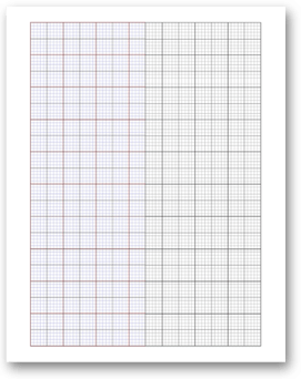 Free Online Graph Paper  Asymmetric and Specialty Grid