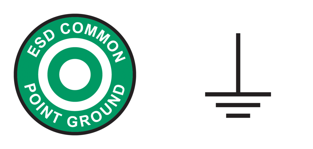 medium resolution of figure 3 the common ground point symbol from ansi s8 1 at left