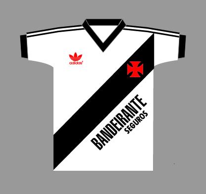 Camisas Vasco (1980 - 2000) (5/6)