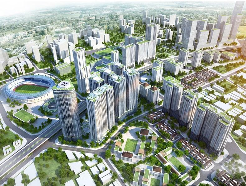Vốn chảy mạnh vào ngành bất động sản xây dựng