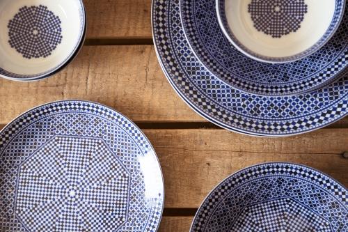 La Vaisselle Marocaine Au Bleu De Fs Incontournabledeco
