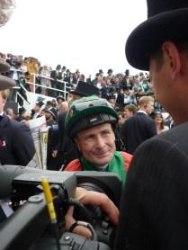 Pat Smullen, winning jockey of the Epsom Derby 2016